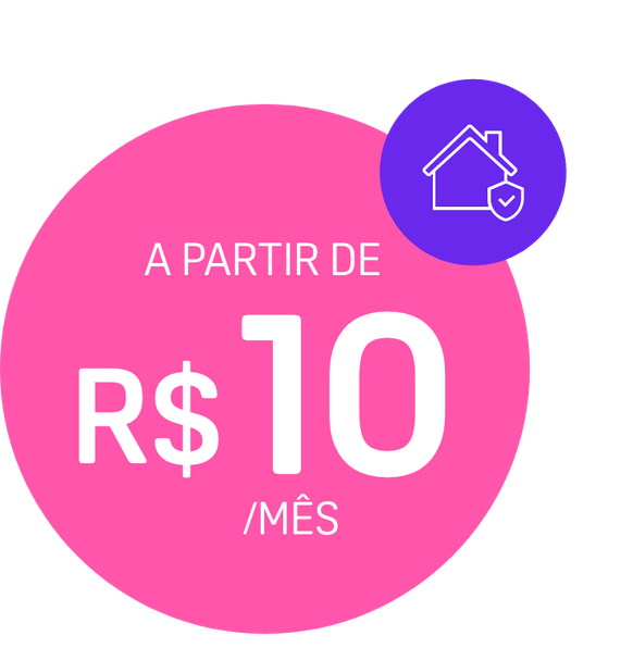 Seguro Residencial Ciclic - A partir de R$ 10/mês